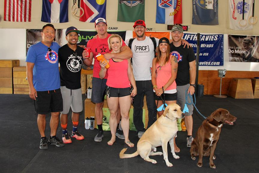 I met some of the Lowry CrossFit crew during the wild/STRONG Open Tour earlier this year. Now I am proud to call them part of my squad. I even scored a spot in their group photo at the 2016 Colorado Open.