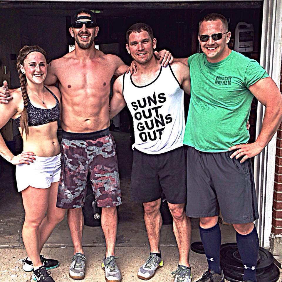 """I watched Seth, one in from the left, make an incredible transformation by simply changing his diet to something he called a """"macro approach."""""""