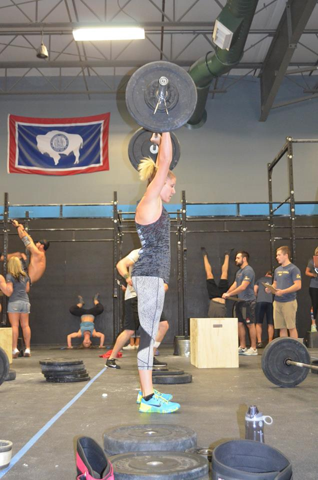 CrossFit Cheyenne's Lisa Meeker will attempt to ruin the CrossFit Frontier podium party in the women's Open division.