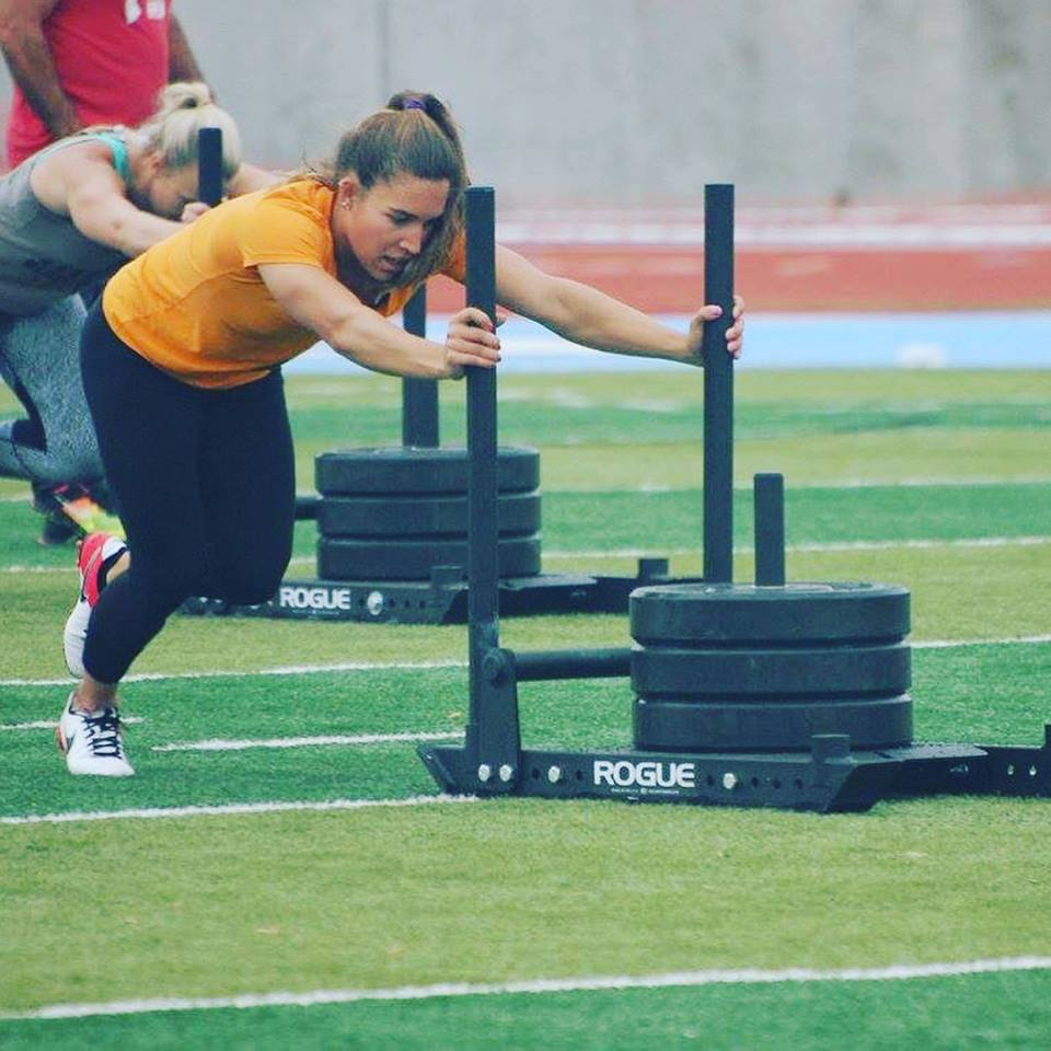 Tori Alemany - Dark Horse Performance athlete on her way to winning the Wyoming Open women's pro division in Cheyenne, WY.