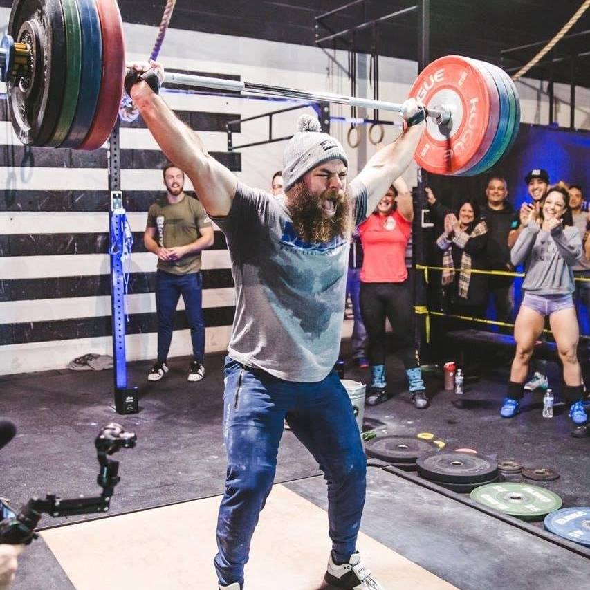 Looking for a favorite? Look no further. Enderton should provide a show during the 1rm snatch event at this year's MBS Turkey Challenge.