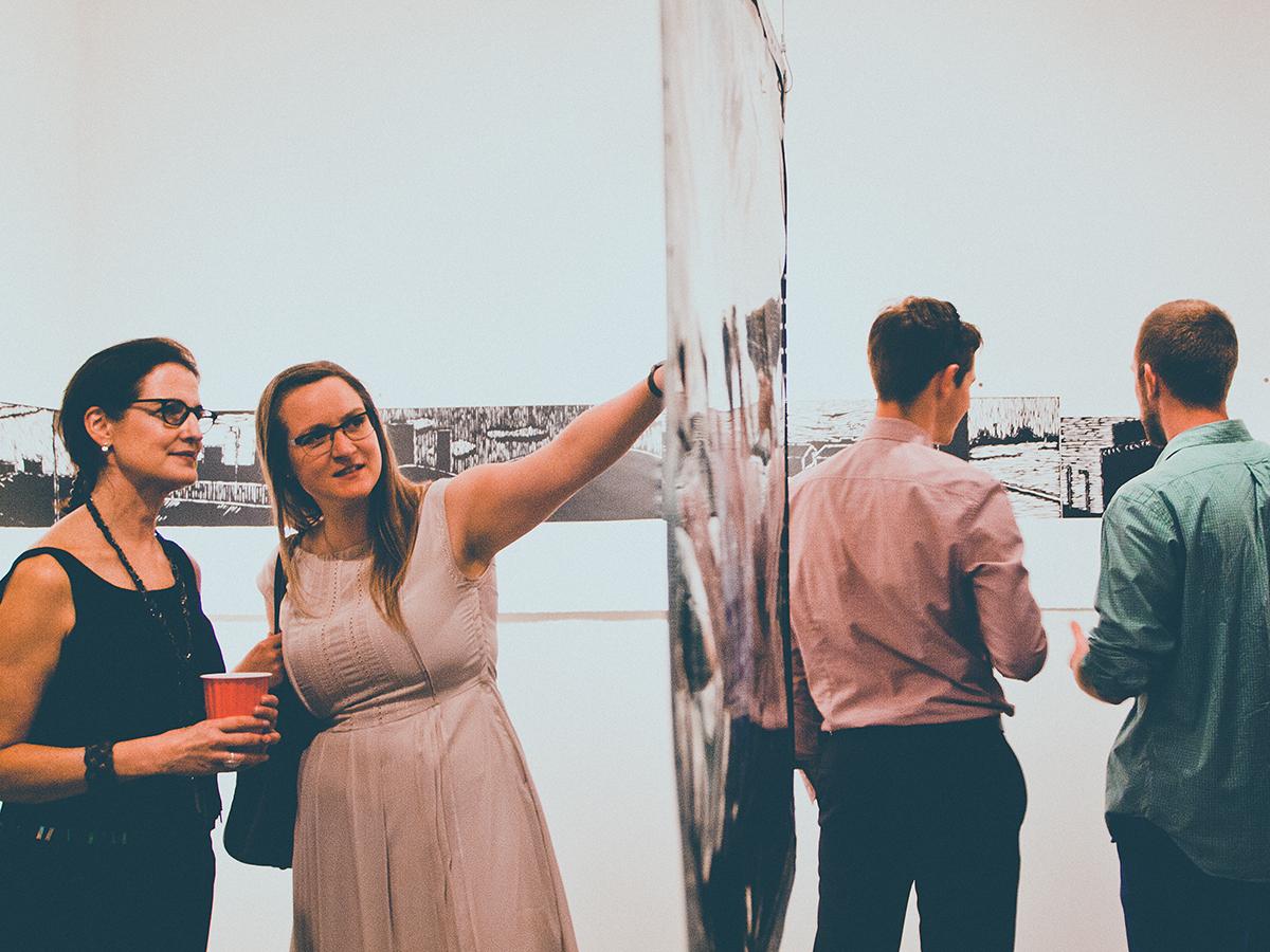 Curator/ Interior Designer Carrie Colton (left) // Studio 66