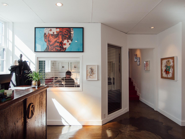 Tattoo Artist Alex Neron // Railbender Gallery & Studio