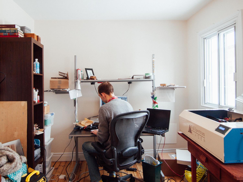 Third Son Laserworks // Home studio