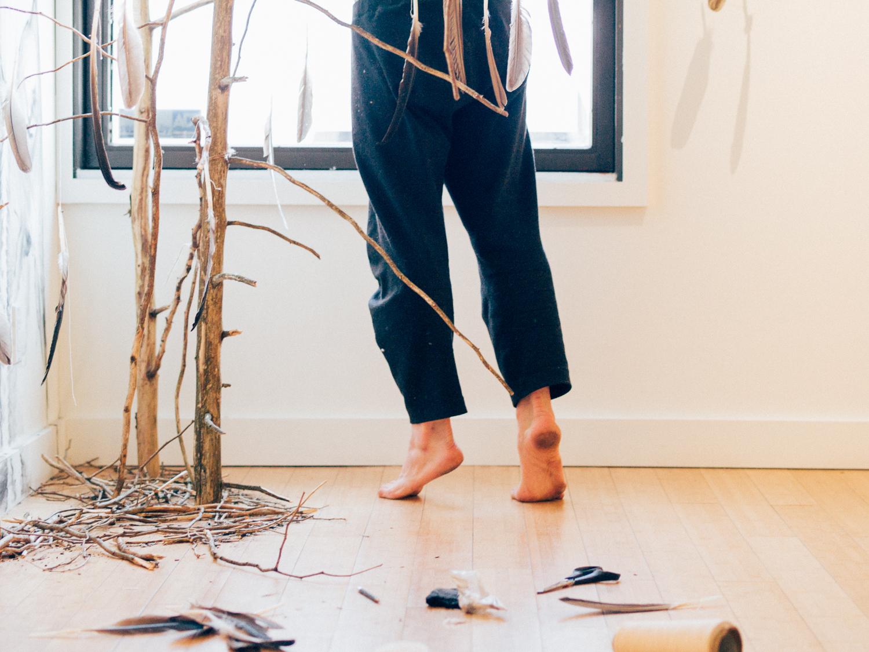 Artist Stefan Thompson // Wallspace Gallery