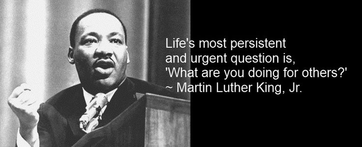 Martin Luther King Service Volunteering