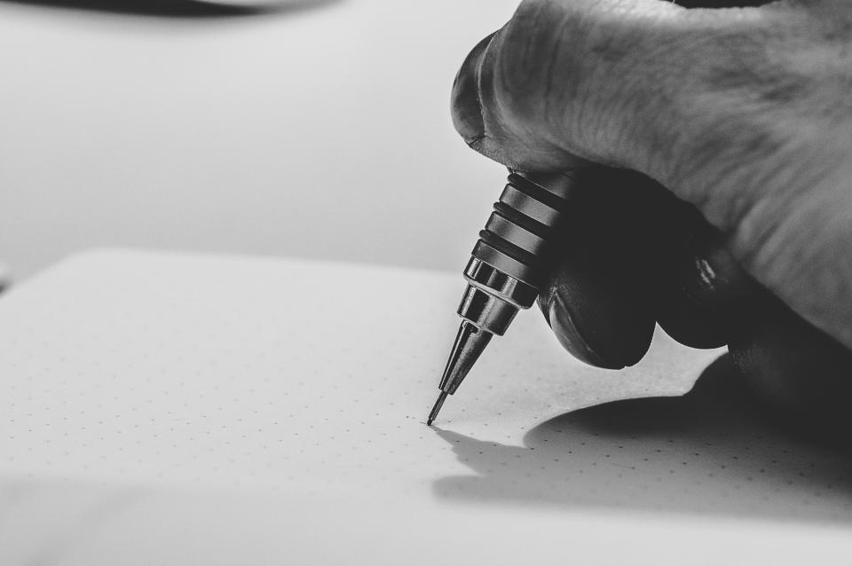 Pen Optimism Paper Hero Story