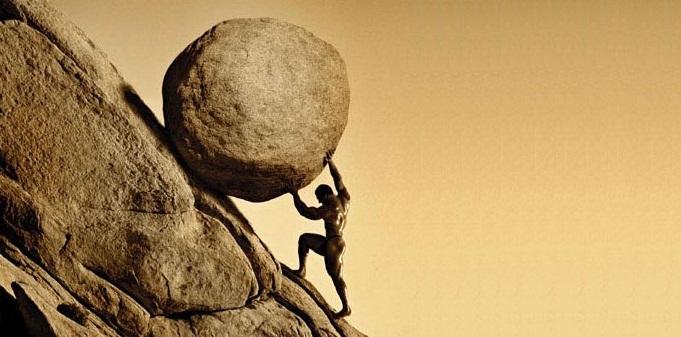 Sisyphus Hard Work Change