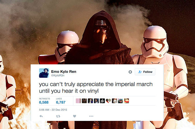 Seriously, if you're not following @KyloR3n you're doing it wrong.