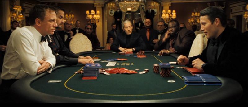 James Bond Gambling