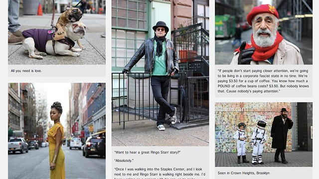 Thank you,  Humans of New York , for building our faith in humanity again.