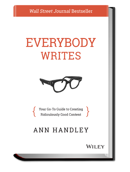 Ann Handley Everybody Writes