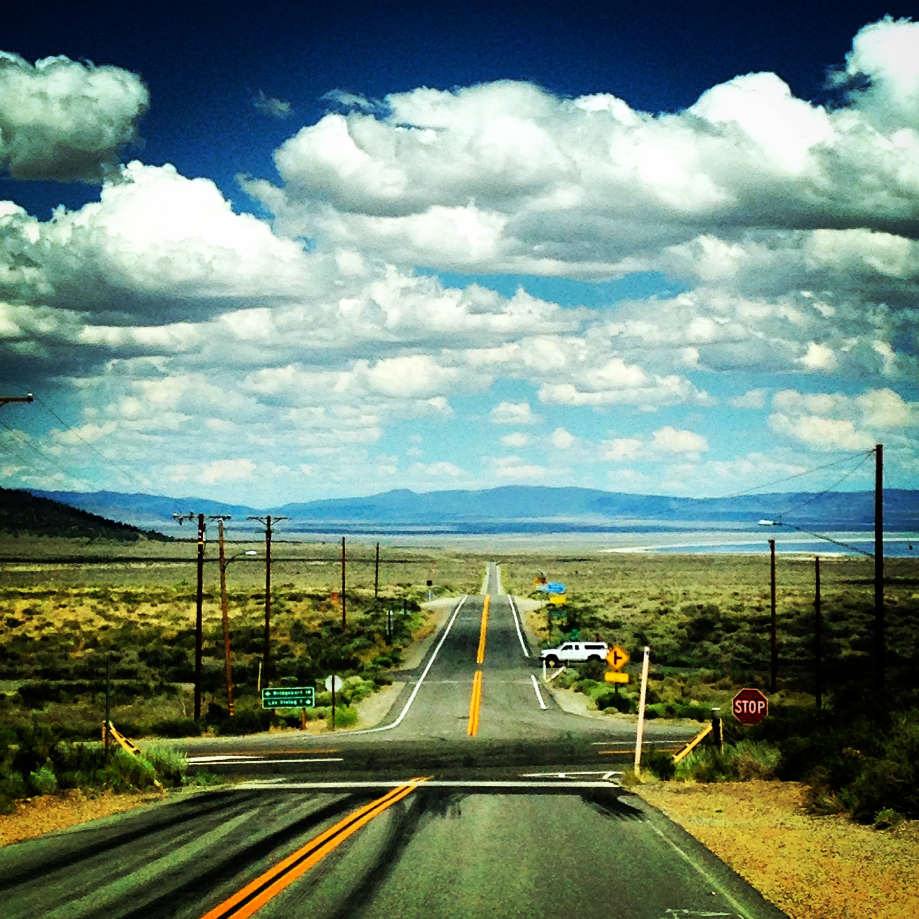 THE ROAD TO MAMMOTH