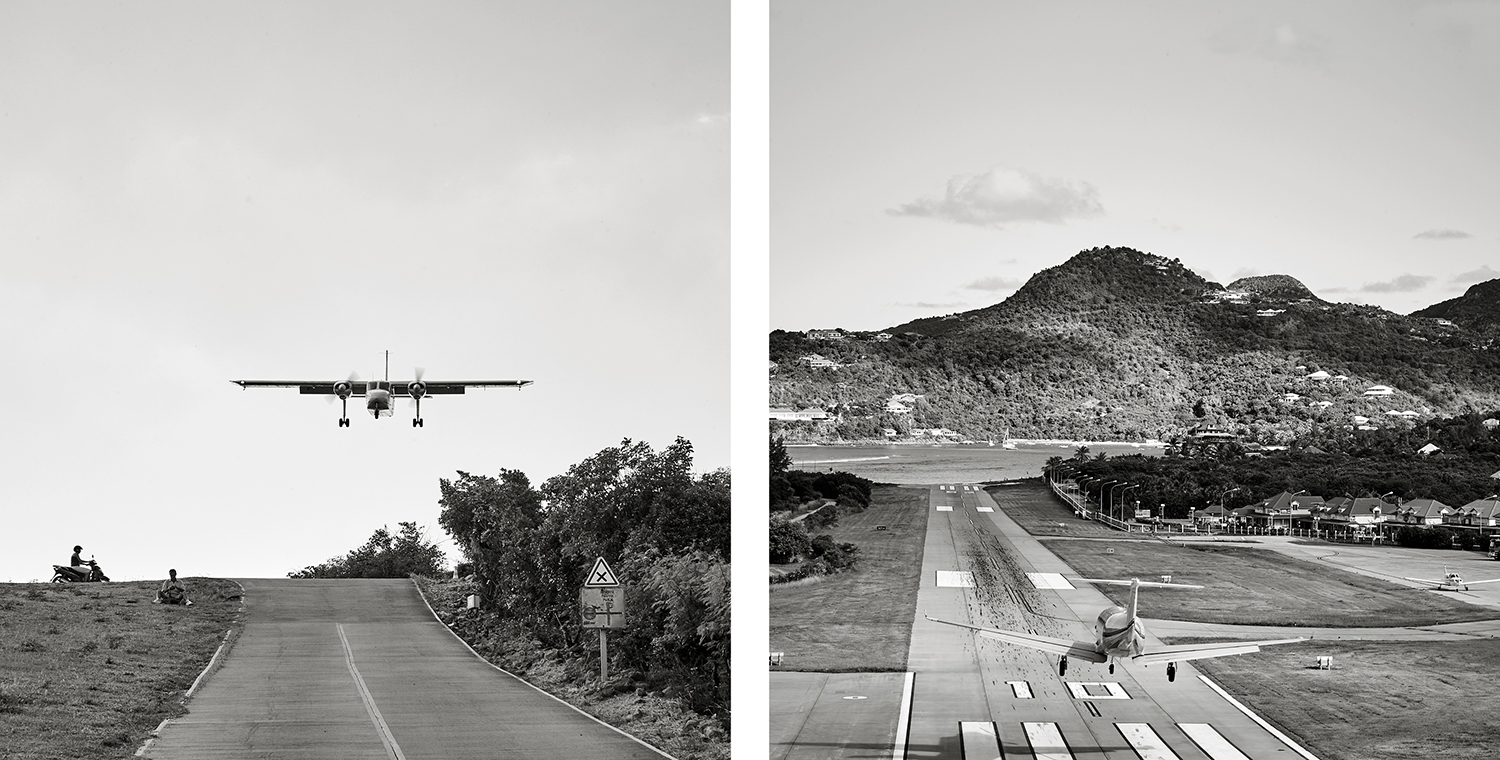 EXHILARATING LANDING AT THE GUSTAVIA III AIRPORT ON ST. BARTHS