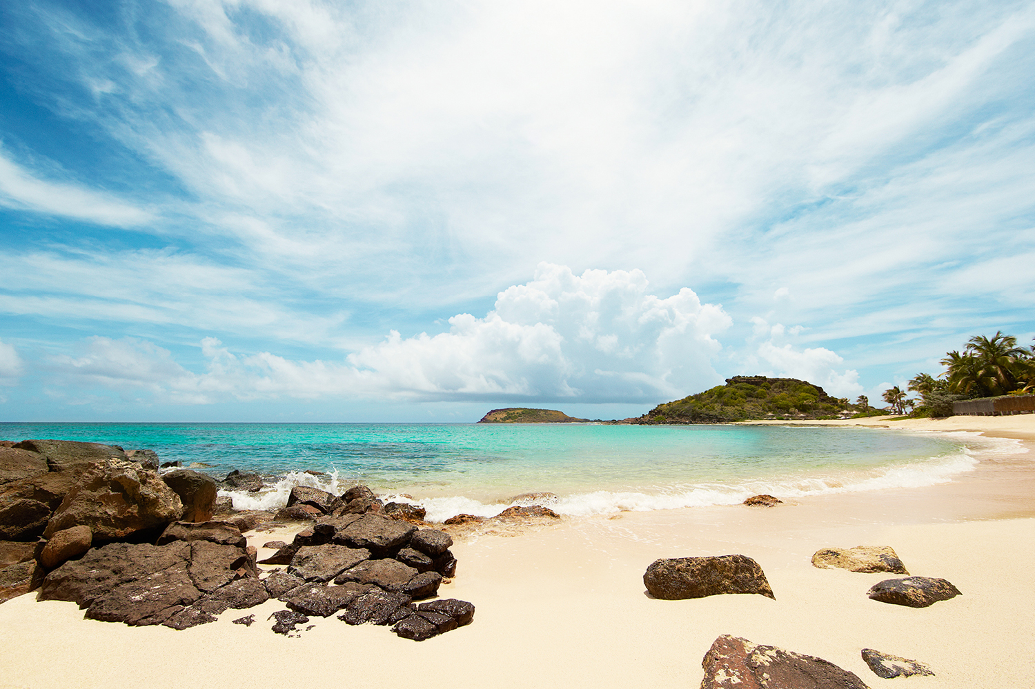 THE BEACH AT ANSE MARECHAL