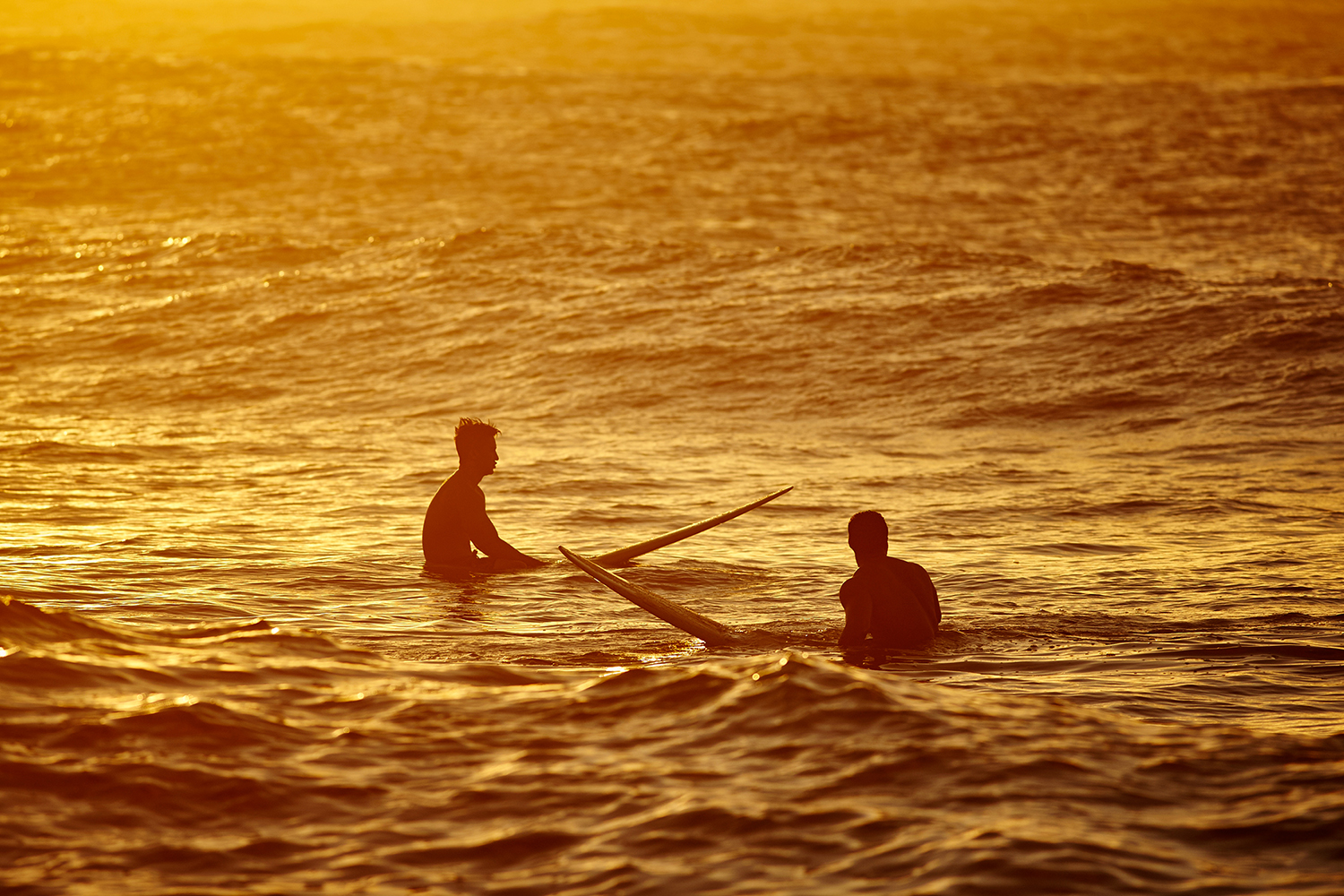 """SURFERS WAITING FOR """"THE ONE"""" AT TURTLE BAY"""