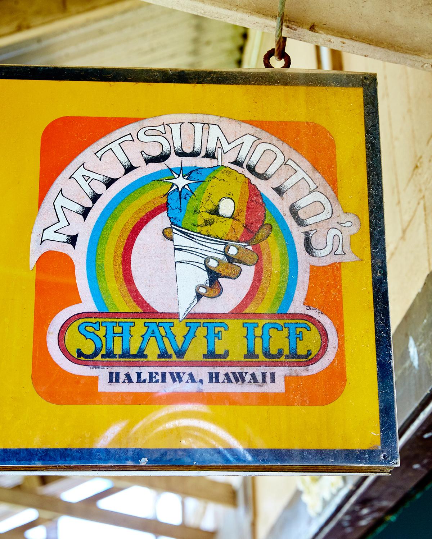 MATSUMOTO'S SHAVE ICE, HALE'IWA