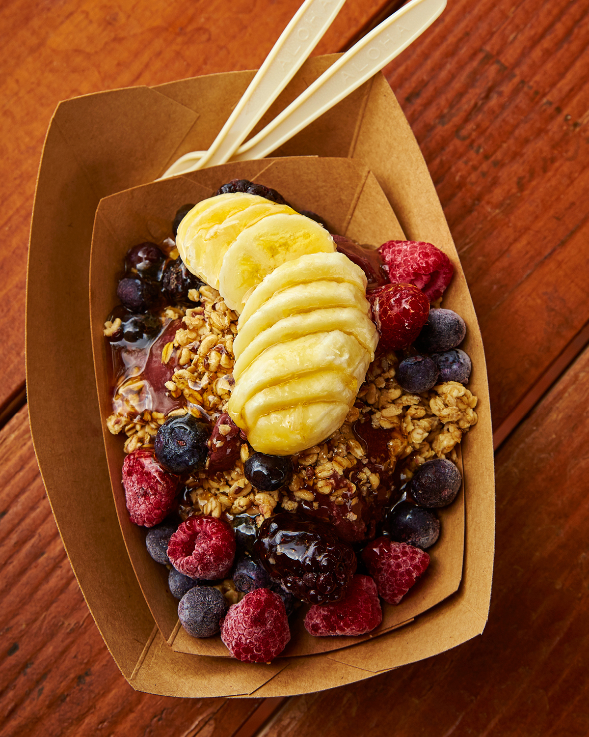 EVER-SO-POPULAR ACAI BOWL AT SHARKS COVE GRILL