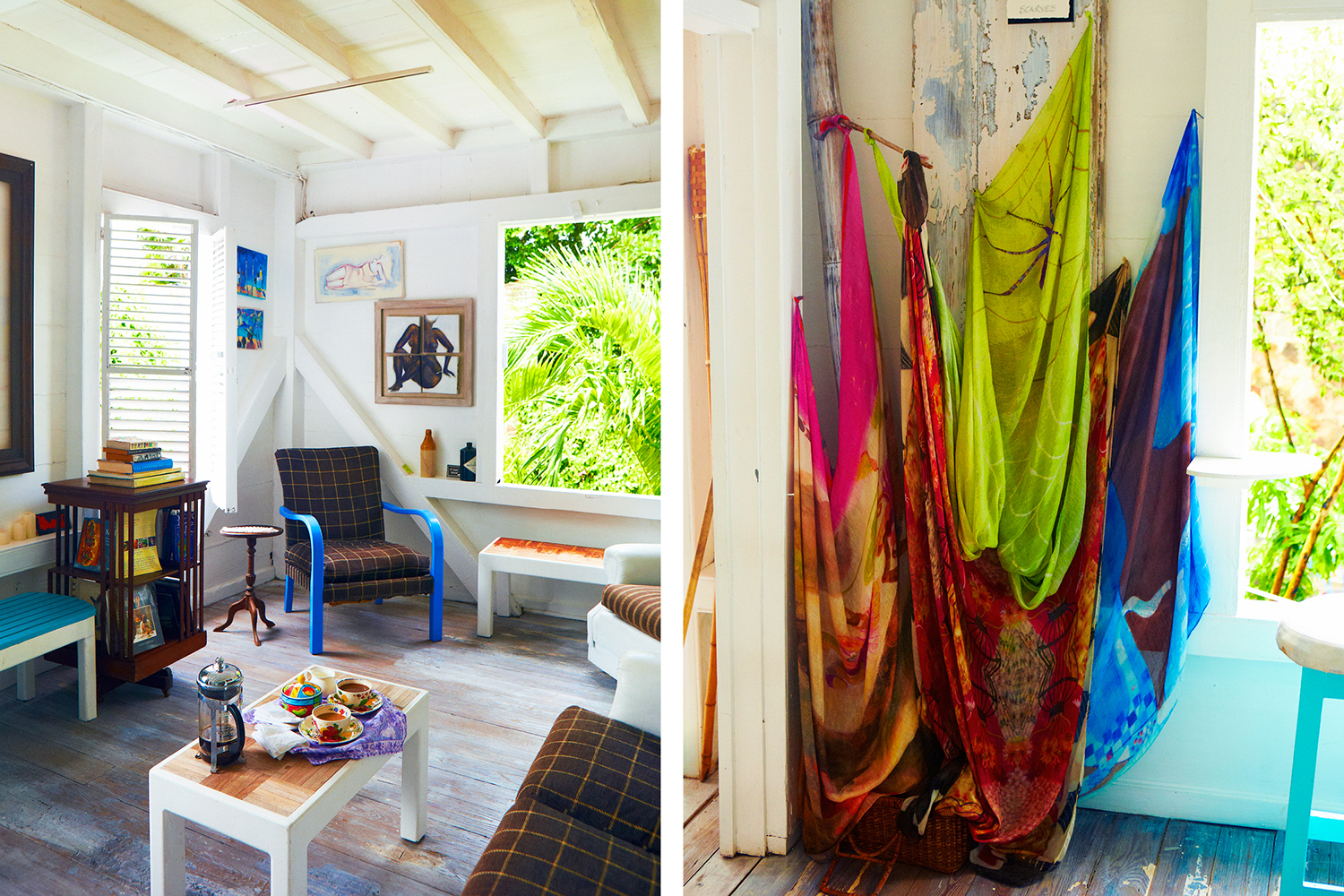 THE GALLERY CAFE AT ROSY CAMERON STUDIO, BASSETERRE