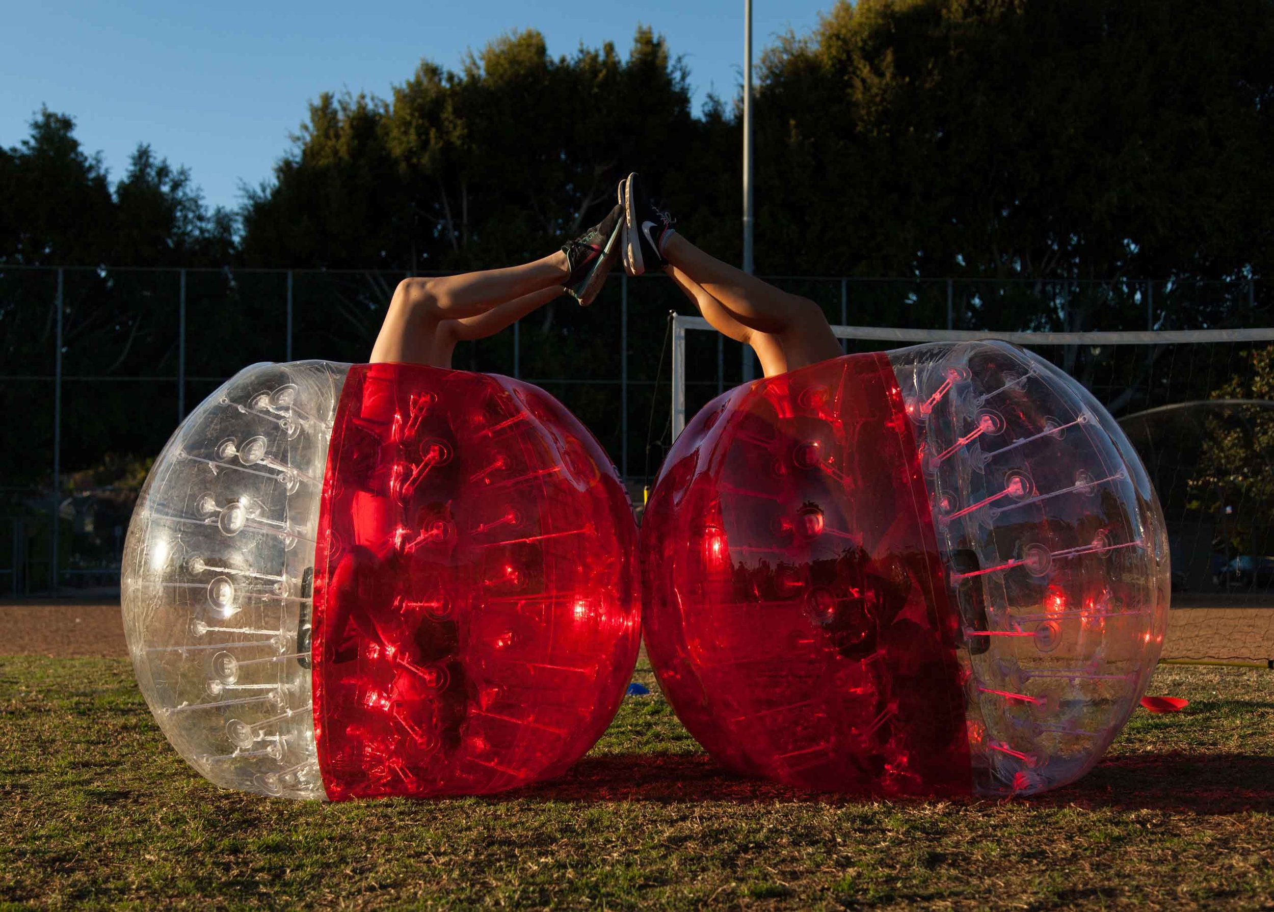 Show your love for Bubble Soccer