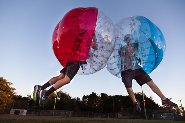 Bubble Soccer High Bounce