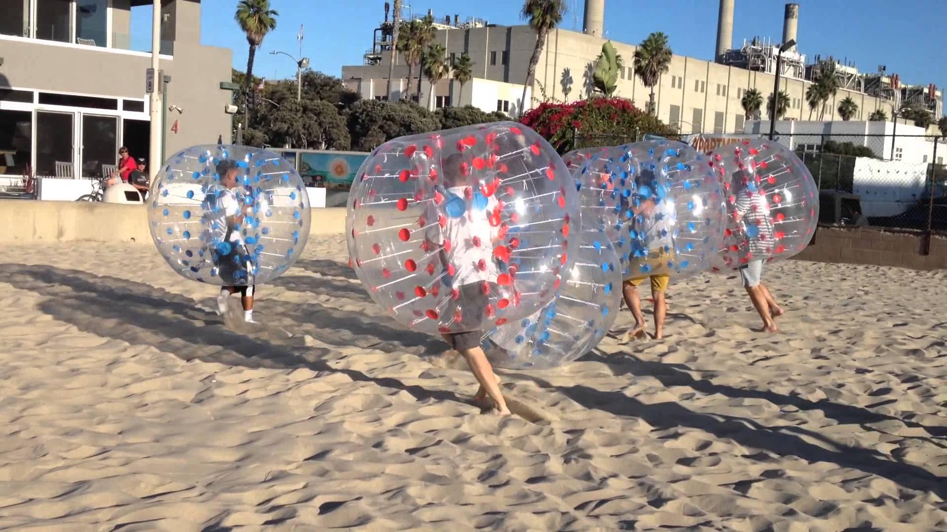 Beach Bubble Soccer