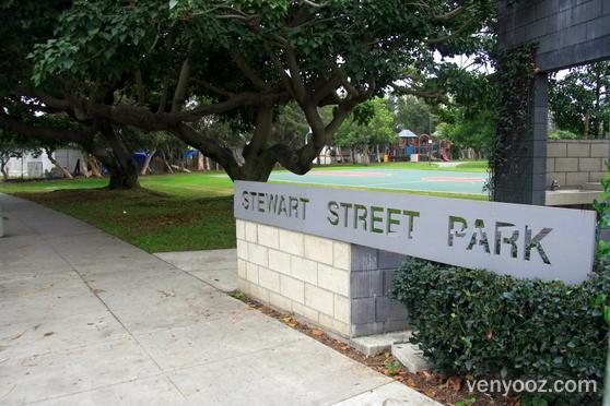Welcome to beautiful Stewart Street Park