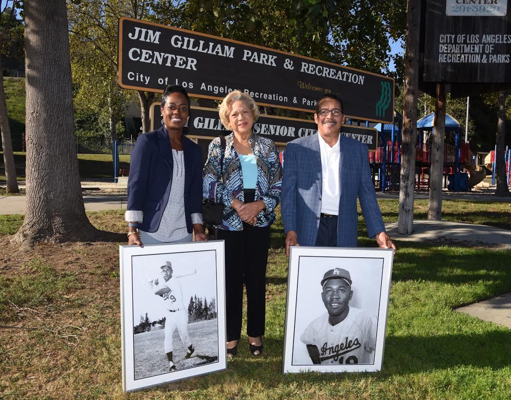Jim Gilliam Park opening and dediation