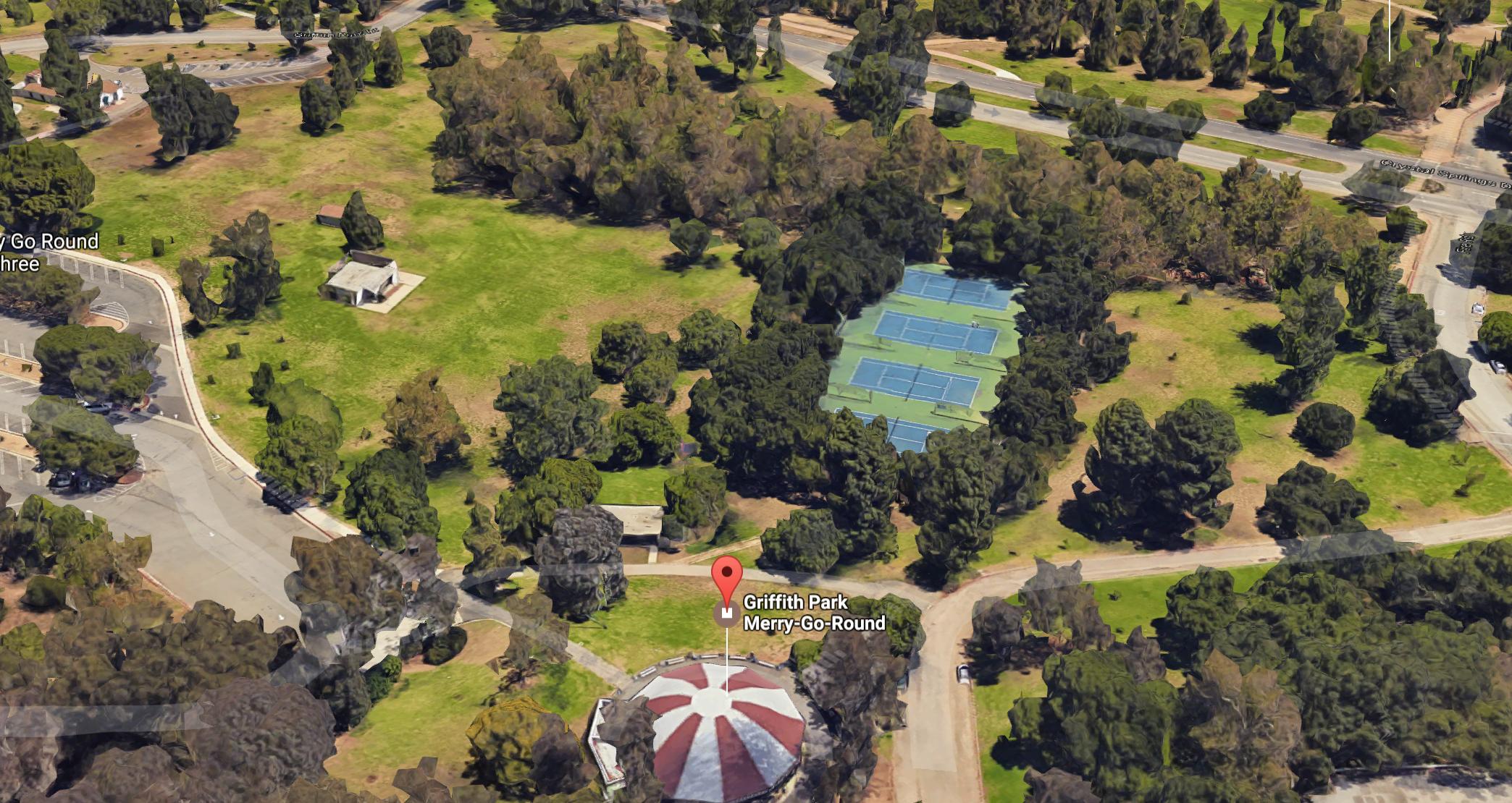 Griffith Park Merry Go Round Park