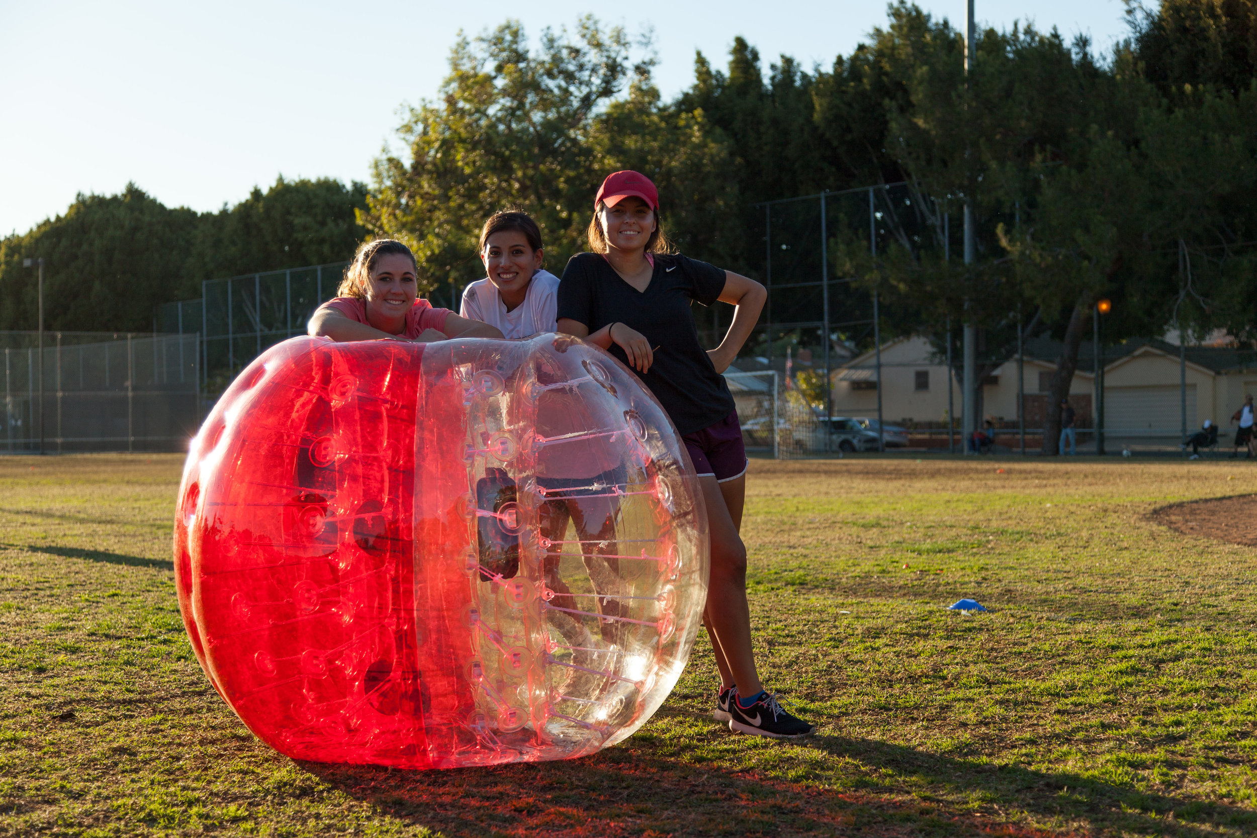 Bubble Soccer at the Park