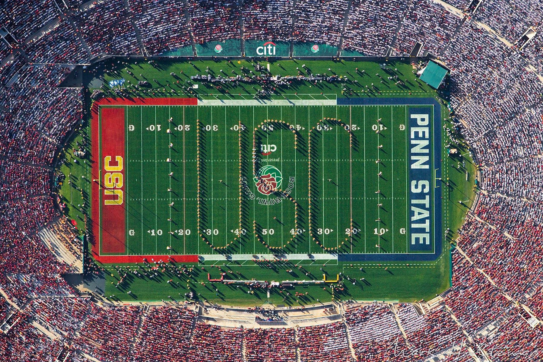 Pasadena Rose Bowl USC Marching Band