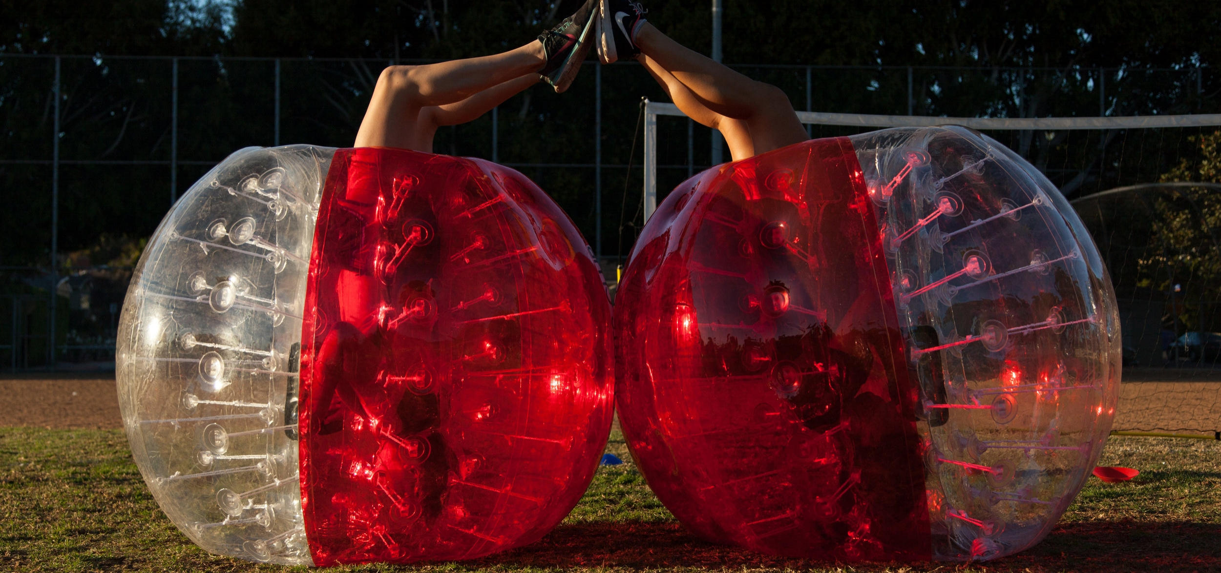 LEARN MORE  - Want to know more about Bubble Soccer, check out our Learn More section.