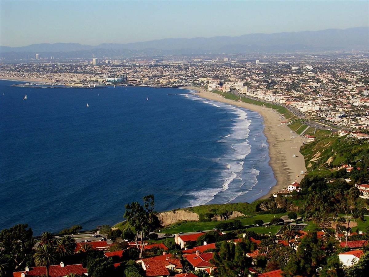 South Bay Cities Bubble Soccer Torrance beach overlook