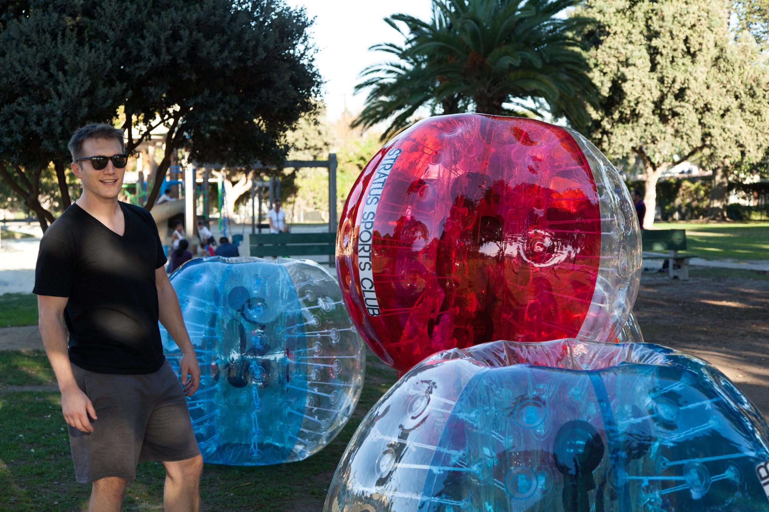 Rent bubble soccer Northridge parks