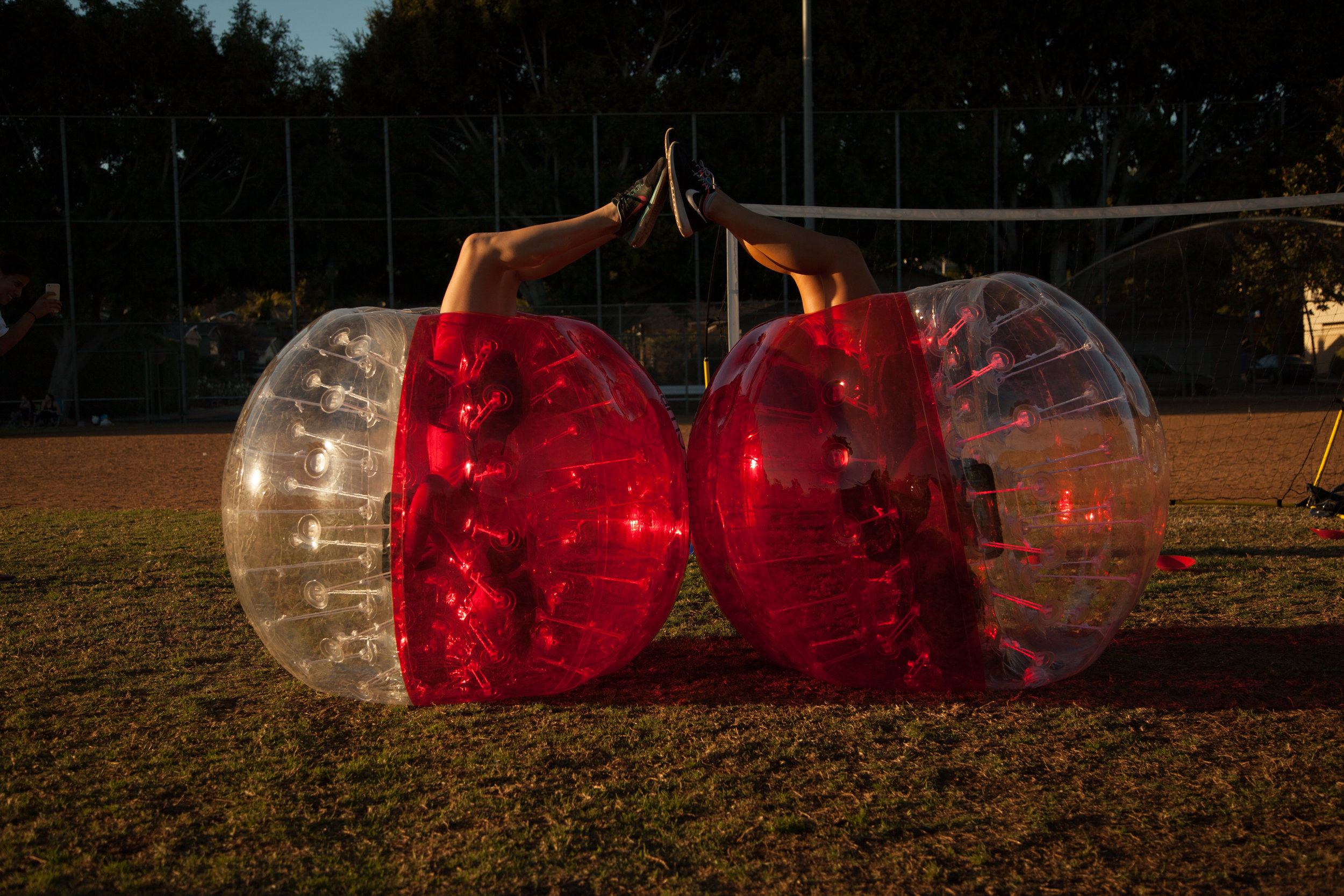 Learn More - Want to know more about Bubble Soccer, like rules, FAQ and history, check out our Learn More section.