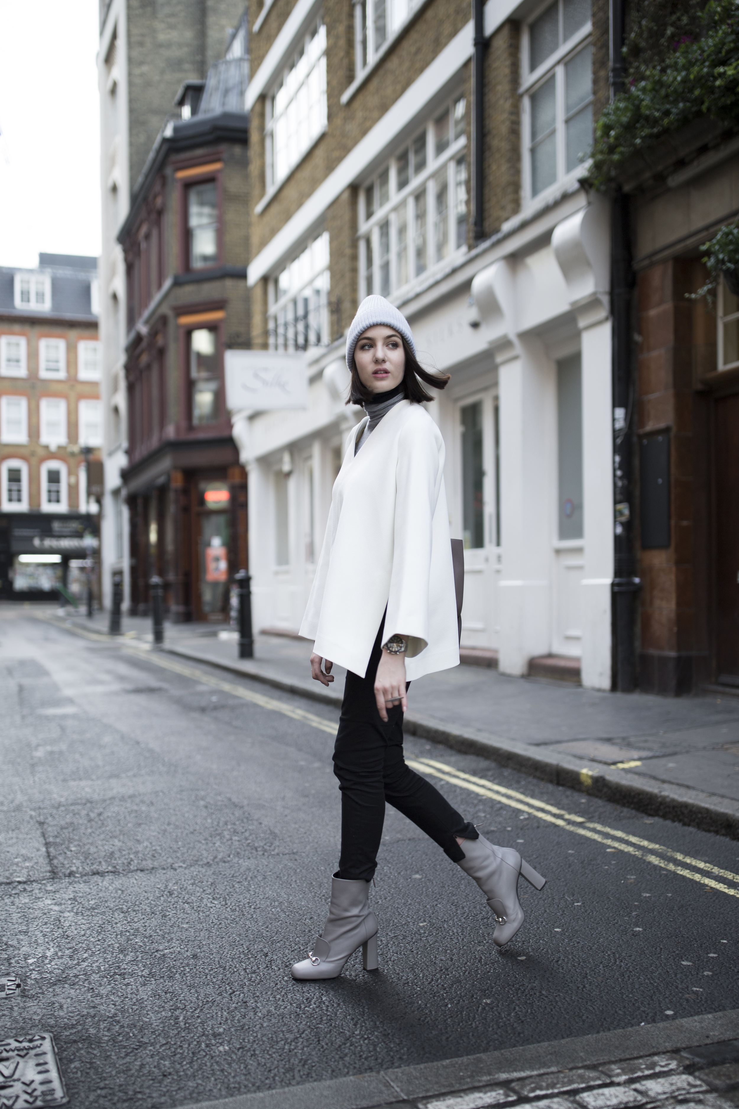 Shot From The Street Minimal Fashion Blog