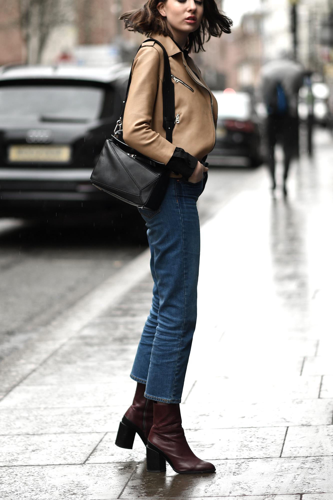 Shot From The Street Minimal Fashion Blog