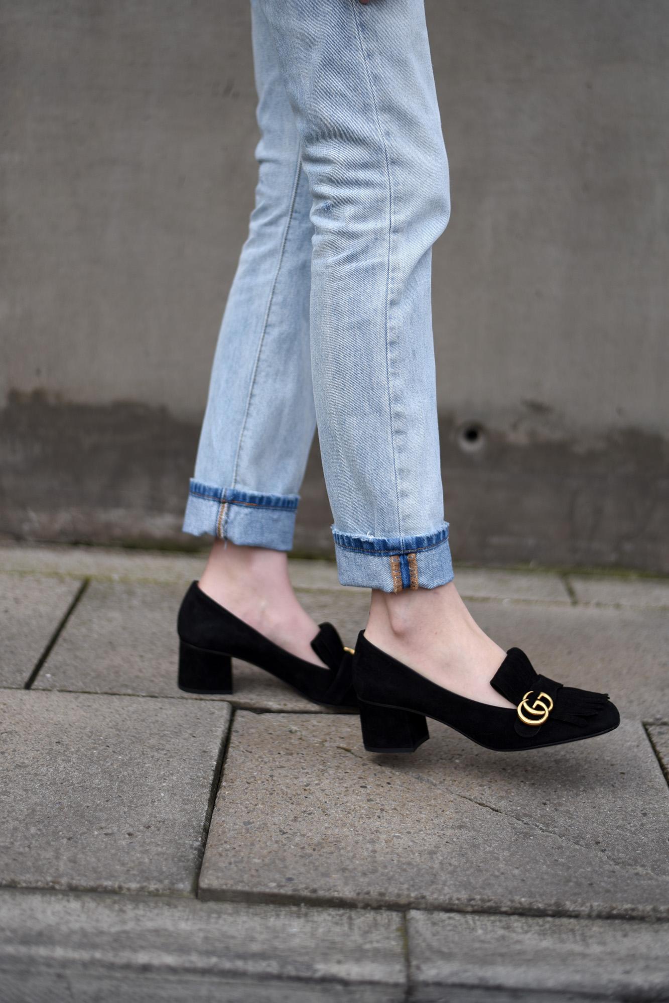 gucci small heels