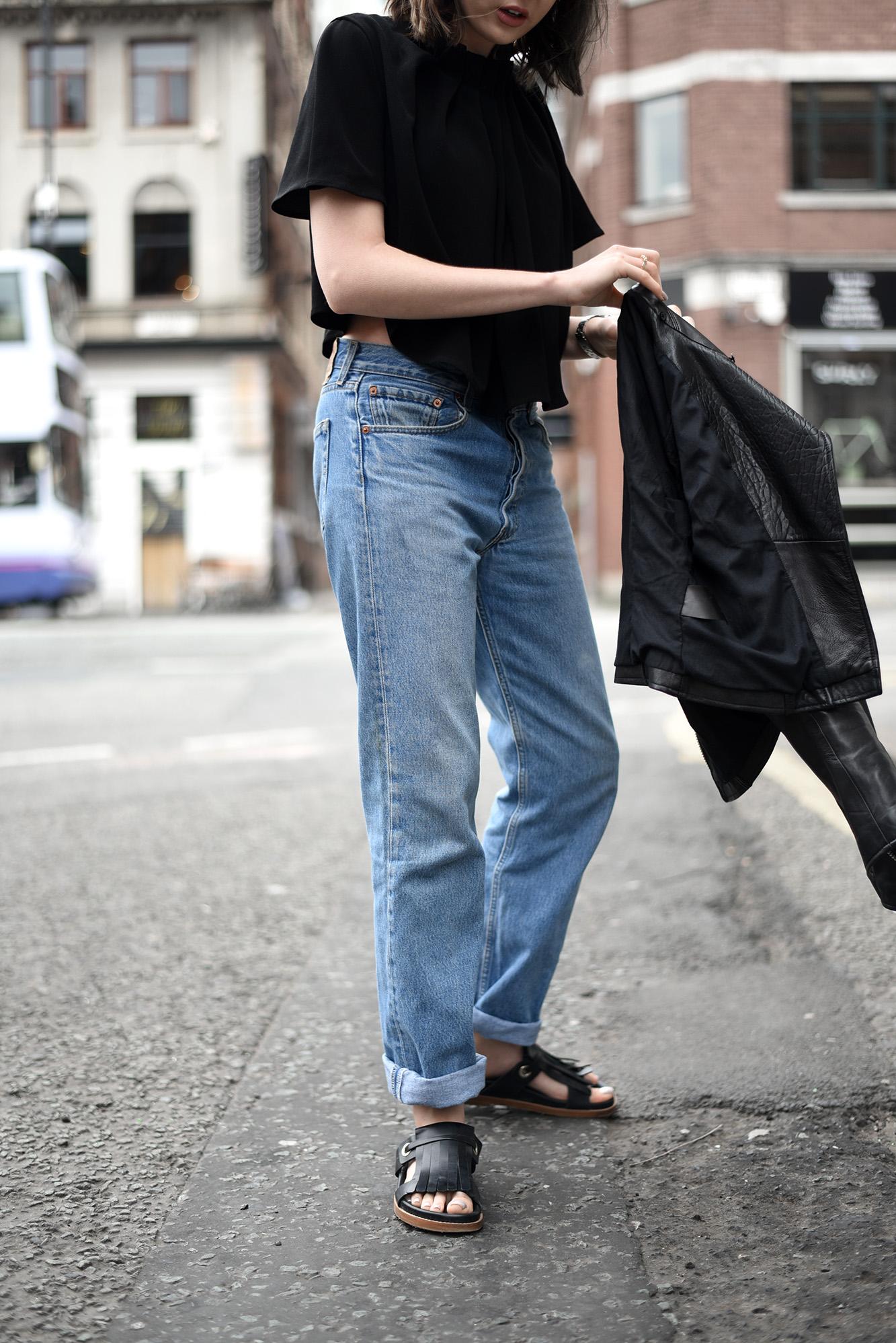 Blogger Style Levi 501s