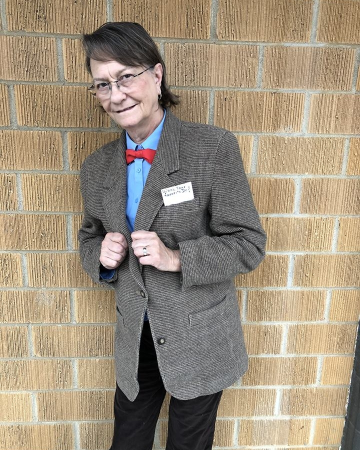 Administrative Assistant Dynece as the eleventh Doctor Who
