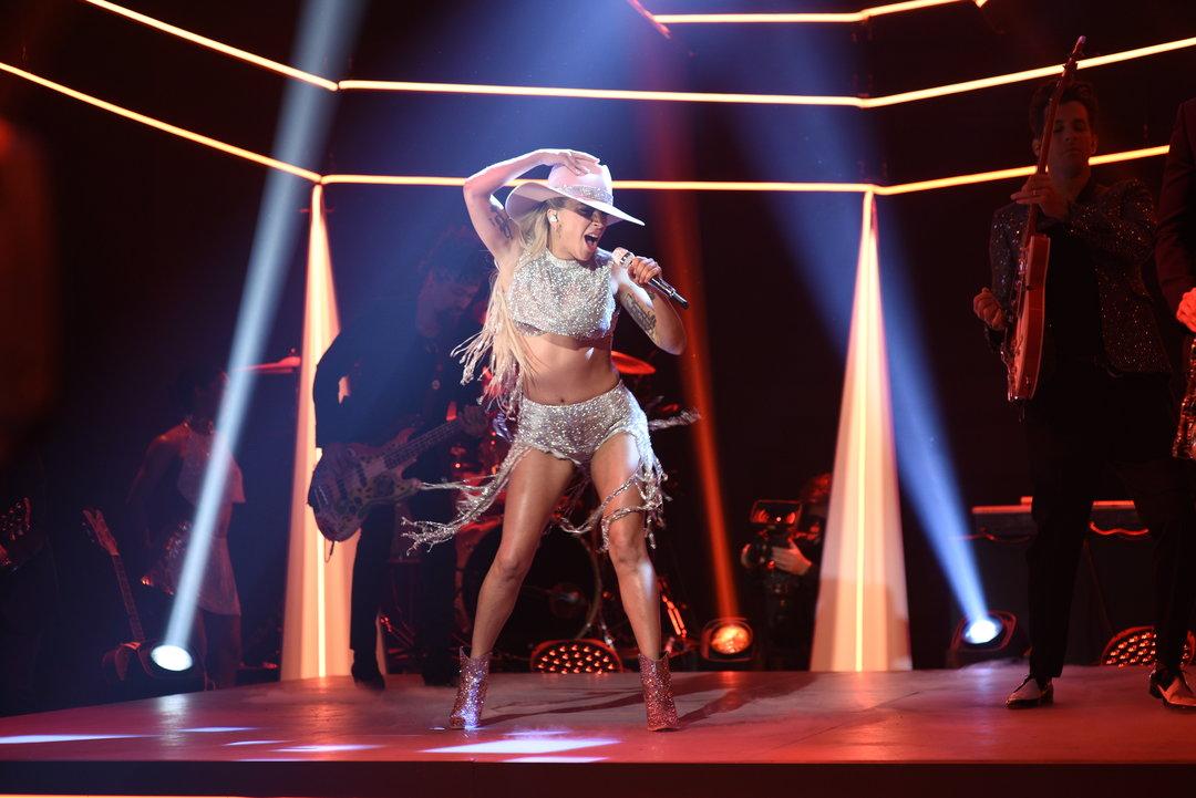 Gaga SNL AYO screenshot.jpg