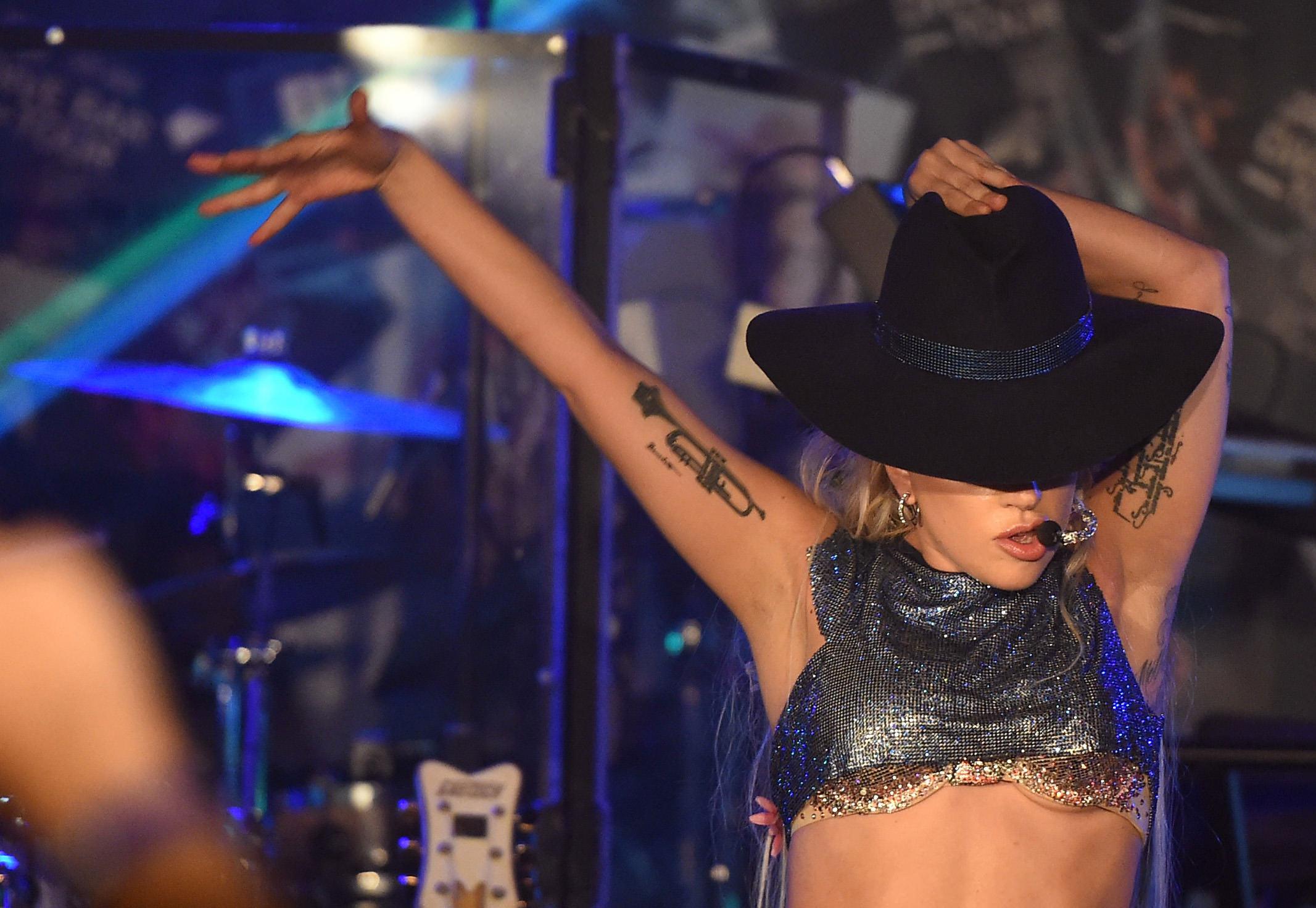 Lady Gaga Bra Dive Bar Tour LA.jpg