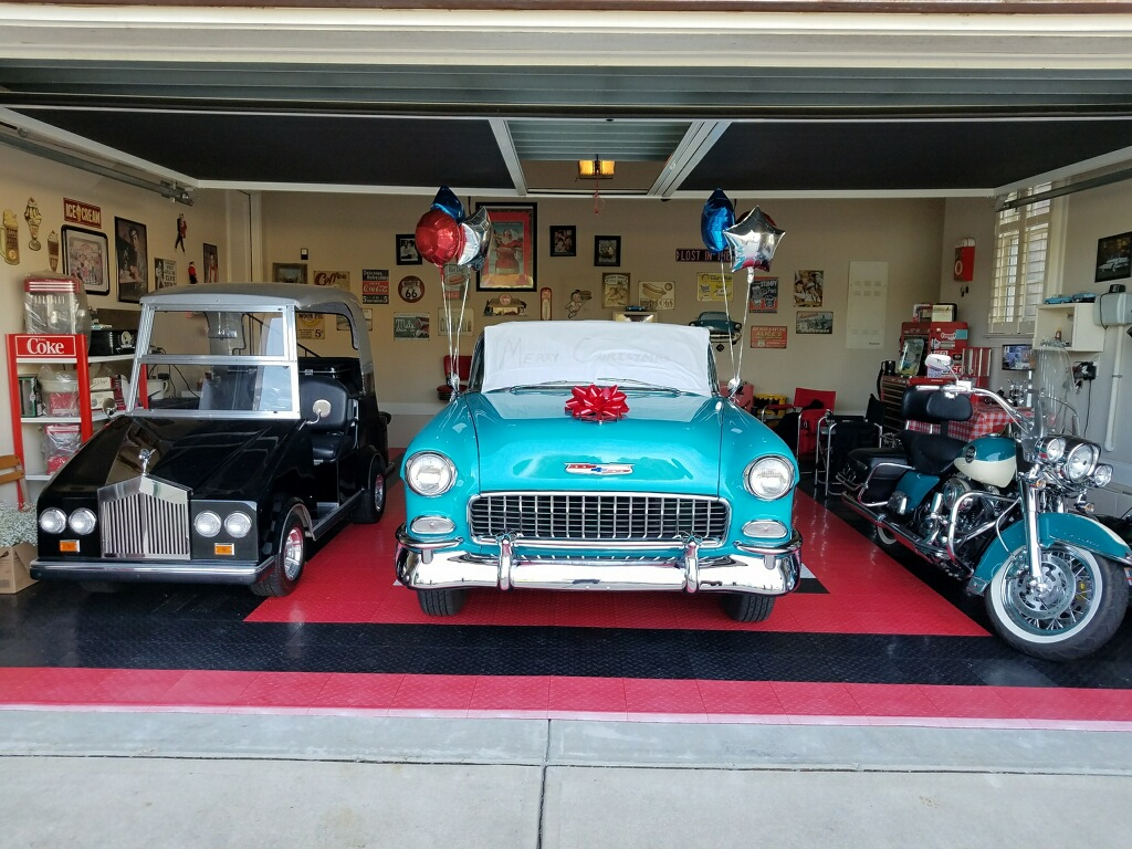 We Delivered Donna's Dream Surprise.  1955 CHEVROLET BEL AIR CONVERTIBLE