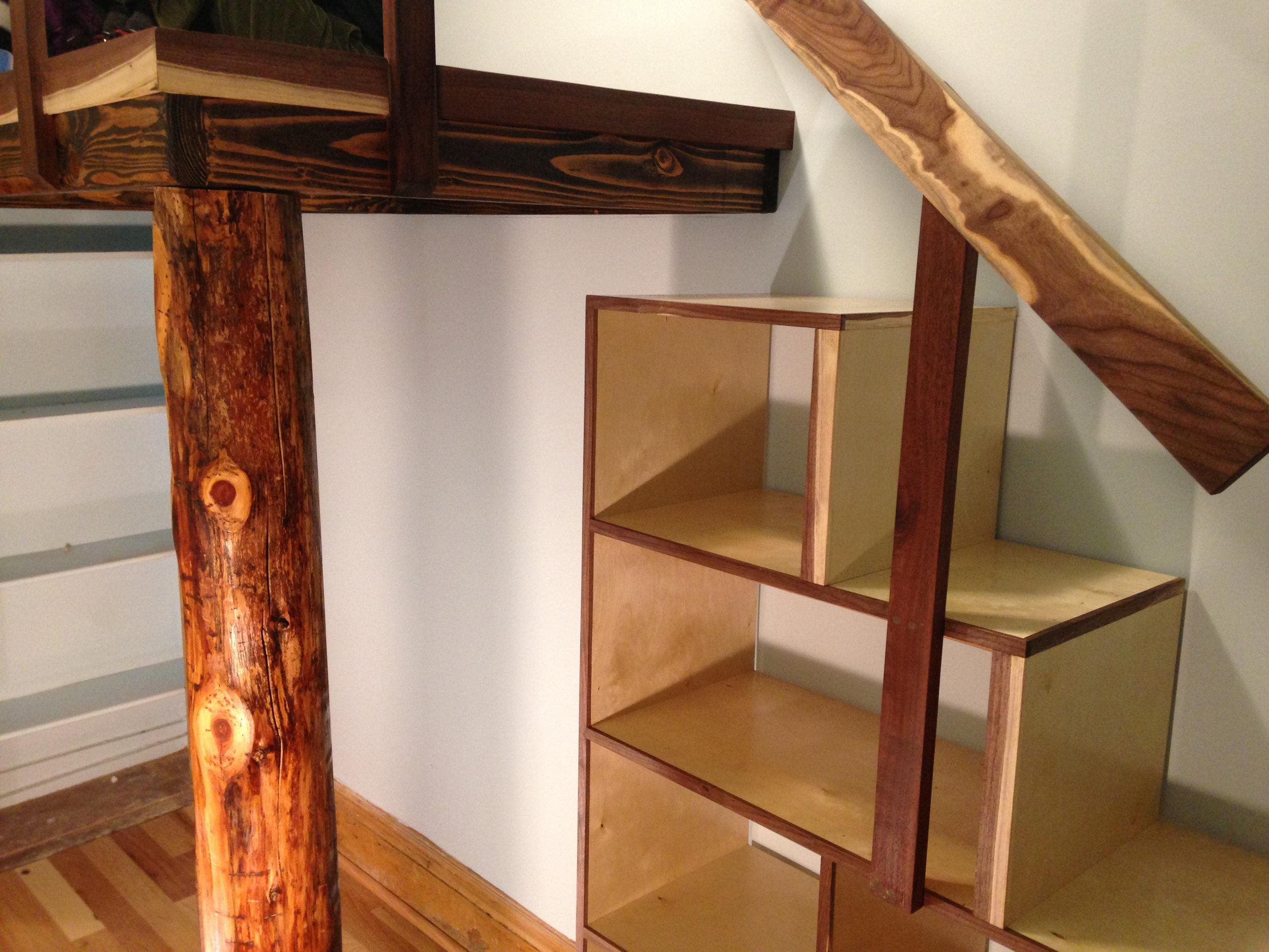 Cedar Log, Cubby Staircase.jpg