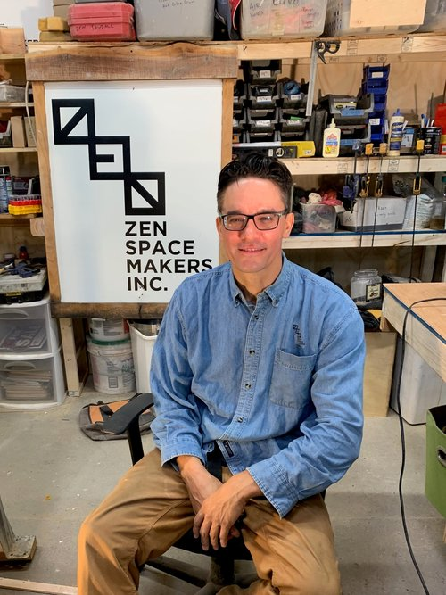 Hi! - My name's Sander Hicks. I'm the lead designer, sales guy, and founder of Zen Space Makers, Inc. I can answer all your questions. And if I didn't answer your questions on this page, send me a note, through the Let's Build page, and I will get back to you within 24 hours.And if you have sketches or measurements, or even a 3D rendering from an architect, that's great, send it to me.-Sander