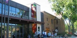 Harrington Gallery is located inside the Firehouse Arts Center in Pleasanton, Calfiornia