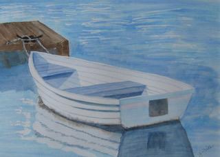 Delta Boat by Judy Rice