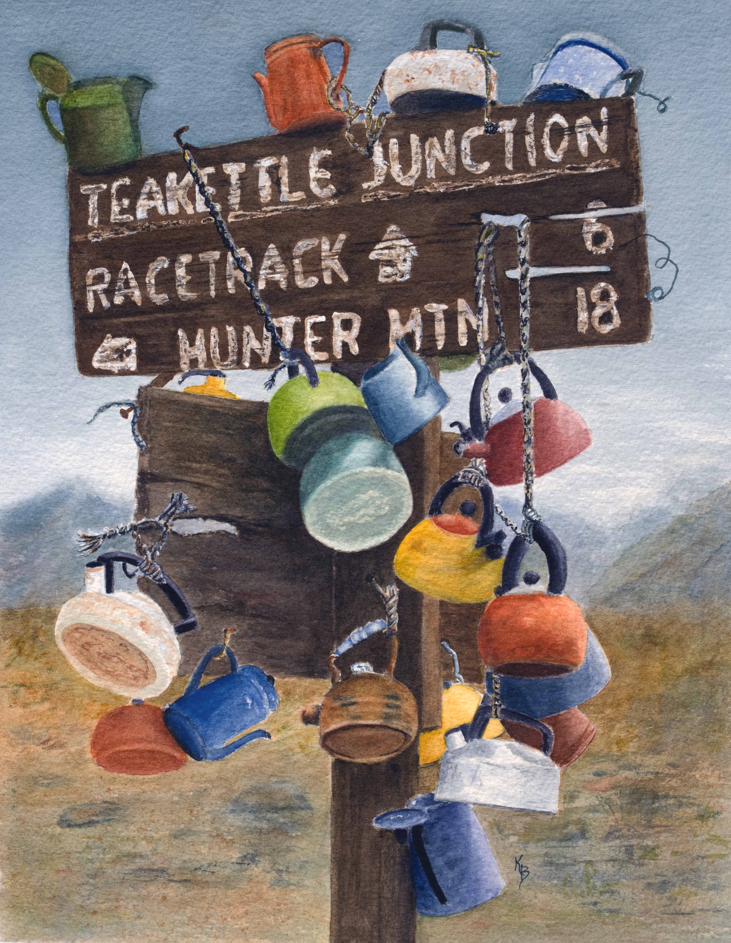 Teakettle Junction by Karen Flescher