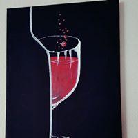 Half Glass by Anathia Ashok