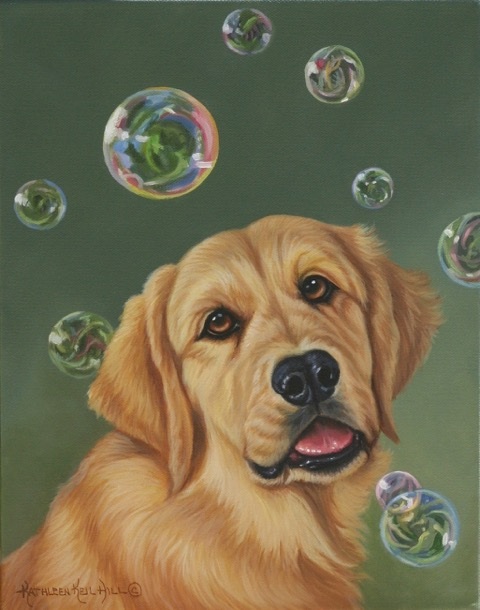 Tiny Bubbles best by Kathleen Hill
